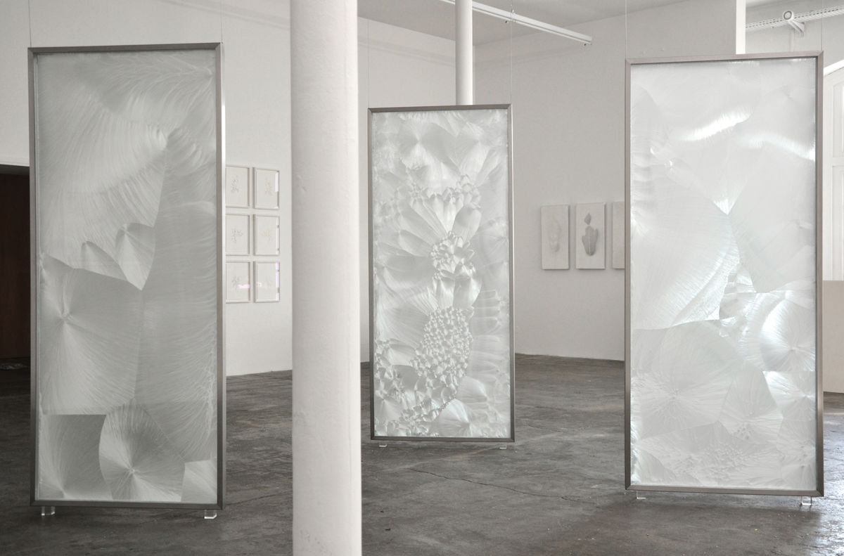 Léa Barbazanges - Crystals, triptych-0