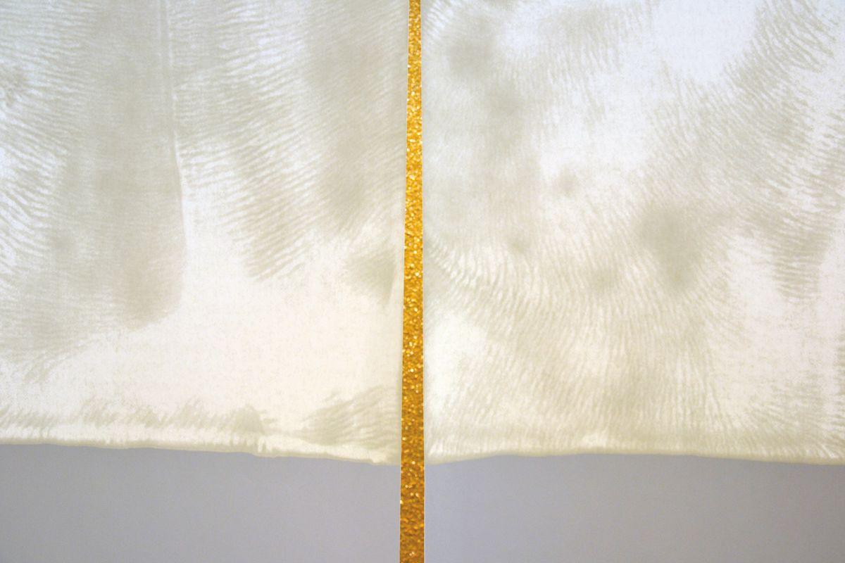 Léa Barbazanges - Tontisse panoramique (sécrétion de cochenille / nervures d'huile)-1